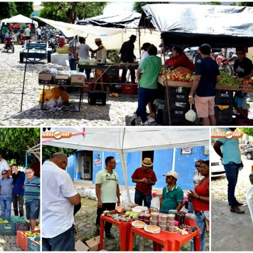 Francisco Macedo realiza a 1ª feira integrada da agricultura familiar