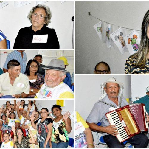Encontro sobre saúde mental e bem estar emocional é realizado com idosos em Vila Nova do Piauí