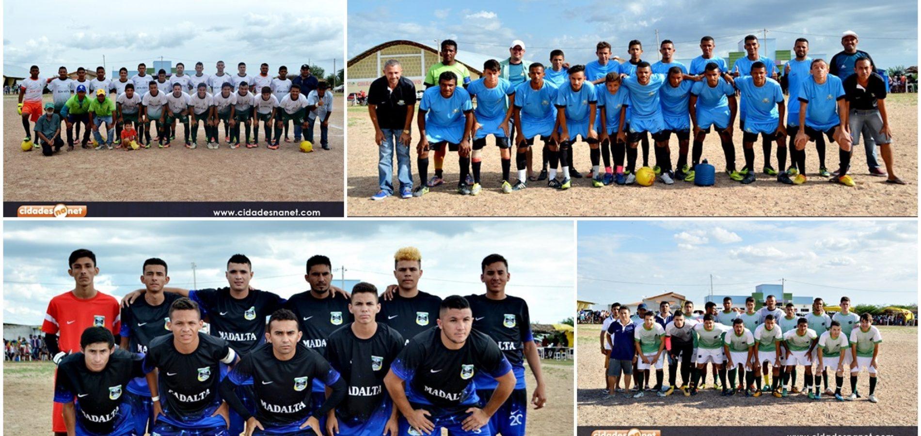Quatro times se classificaram para as semifinais do 26º campeonato de futebol de Alegrete do PI. Veja!