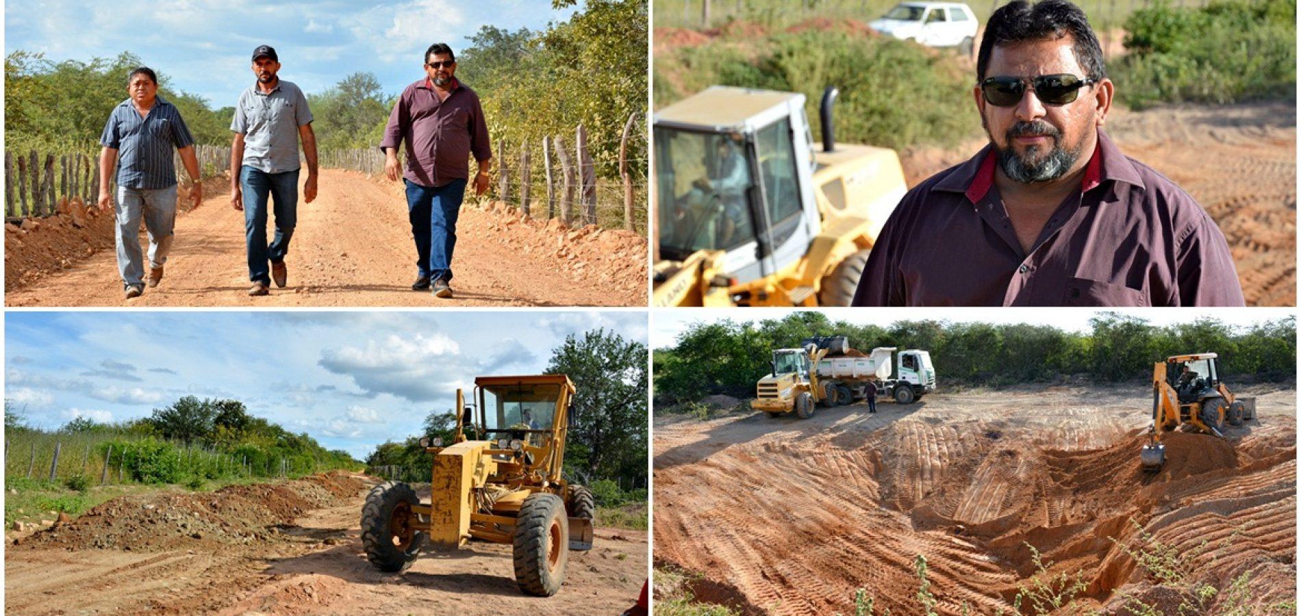 Prefeitura de Belém do Piauí trabalha na recuperação das estradas vicinais