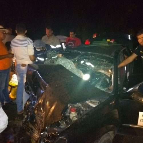 Homem morre e três pessoas ficam feridas após colisão frontal na BR-343 no Sul do Piauí