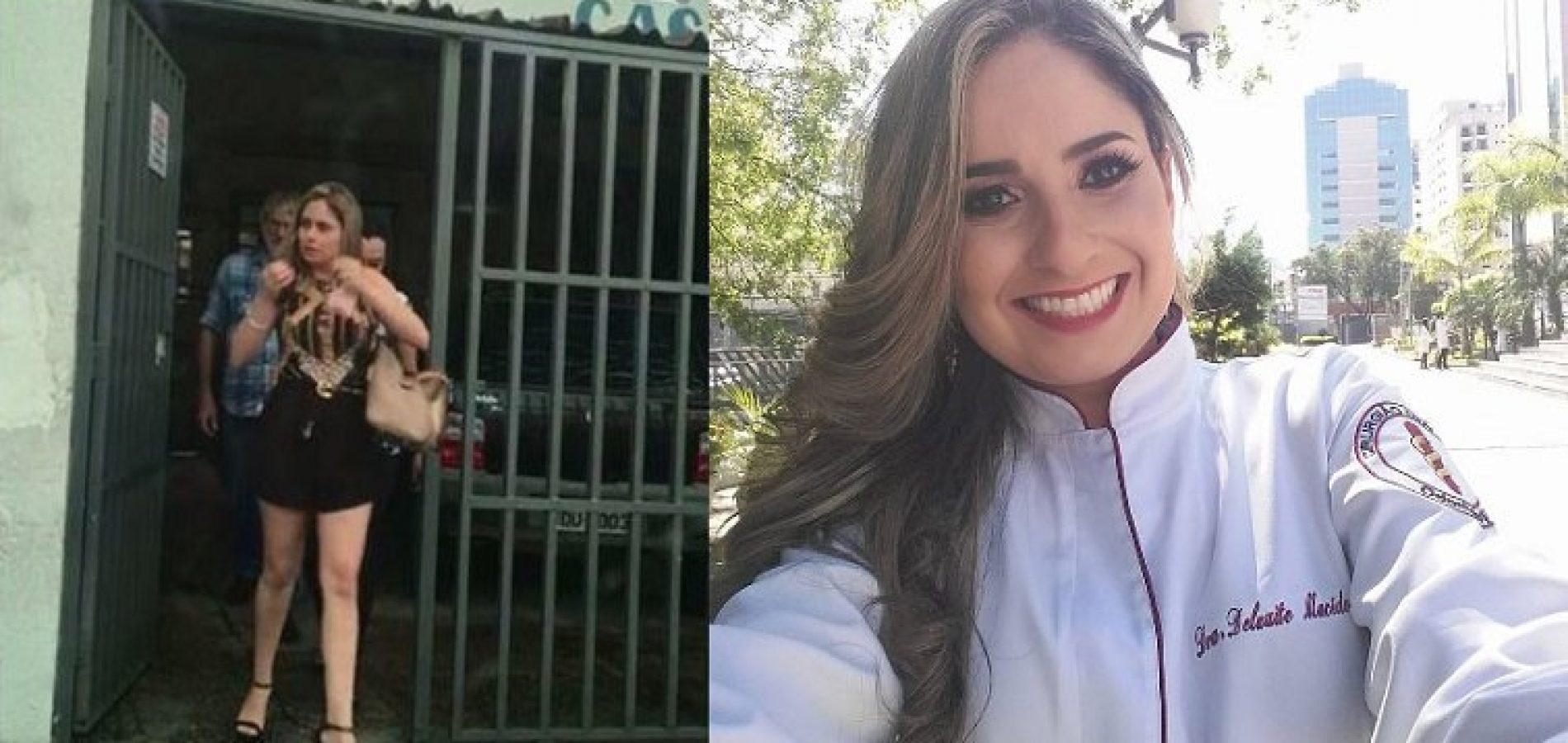 Livre, dentista acusada de racismo no PI ameaça vítima, ironiza polícia e delegada