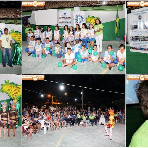 JAICÓS | Em evento comemorativo, Escola Pequeno Polegar ressalta o amor à Pátria e a cultura brasileira