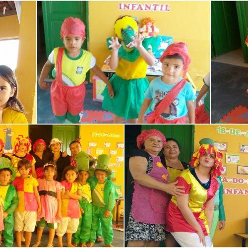 Educação de Belém do PI comemora Dia do Livro Infantil com alunos da Pré-escola Jeude José Dias