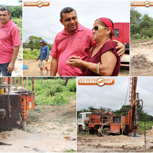 Prefeitura de Jaicós perfura poço na localidade Gameleira e beneficia mais de 70 famílias