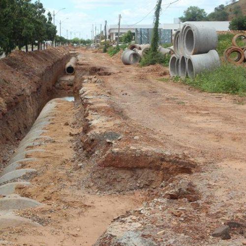 Drenagem da BR 316 em Picos segue em ritmo lento; Previsão é para dezembro de 2019