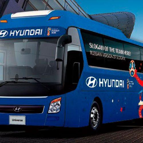 Fifa abre votação para slogans de ônibus das seleções da Copa