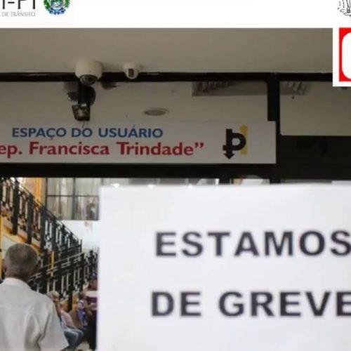 TJ-PI decreta ilegalidade da greve dos servidores do Detran