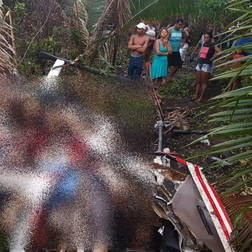 Médicos picoenses morrem em queda de helicóptero no MA