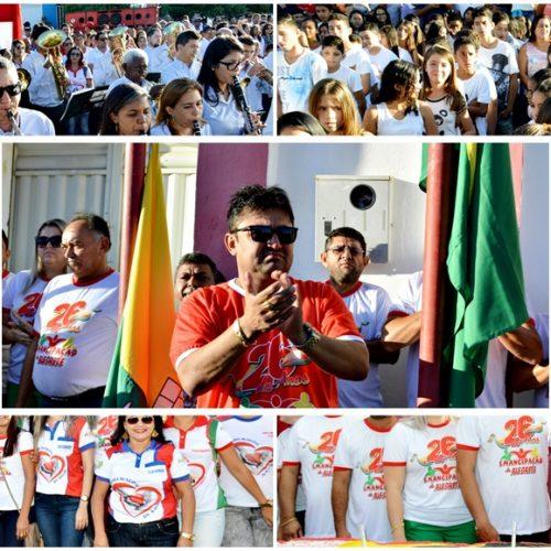 FOTOS   Programação de abertura do 26º aniversário de Alegrete do Piauí