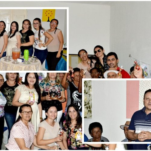 Secretaria de Assistência Social de Vila Nova promove encontro da Páscoa com o grupo de idosos 'Flor do Sertão'