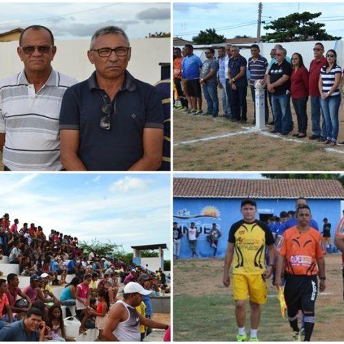 Prefeitura de Simões abre oficialmente Campeonato de Futebol Amador