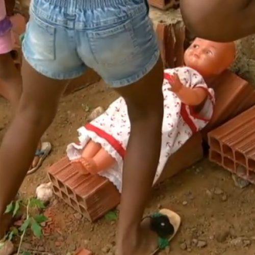 Jornal da Record mostra drama das crianças 'dadas' por causa da fome na região de Paulistana