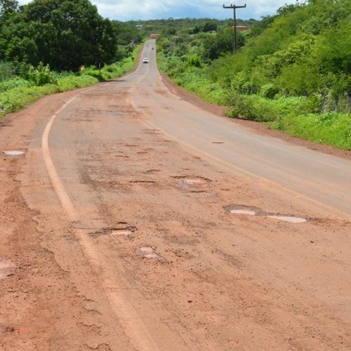 Asfalto que liga Picos a Santana do Piauí será recuperado