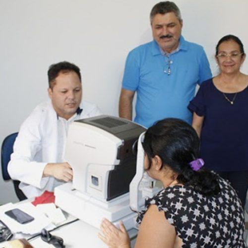 Prefeitura de Simões realiza Semana da Saúde Visual e disponibiliza consultas e armações gratuitas
