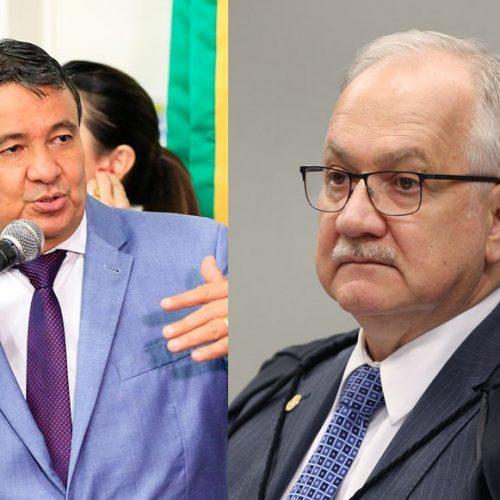 Governador se reúne com Fachin e diz que sofre perseguição política