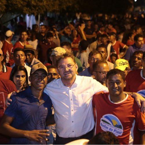 Wilson Martins intensifica agenda de visitas e participa de eventos locais pelo Piauí