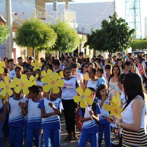 Caridade do Piauí promove Dia 'D' da campanha de proteção das crianças e adolescentes