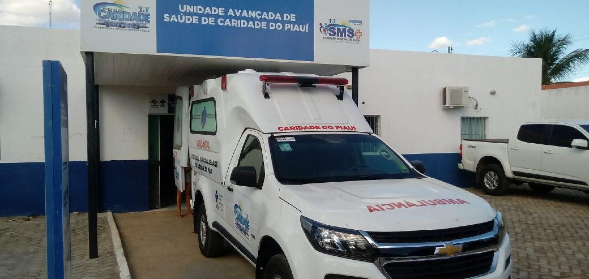 Prefeito Toninho entrega nova ambulância em Caridade do Piauí e anuncia mais conquistas