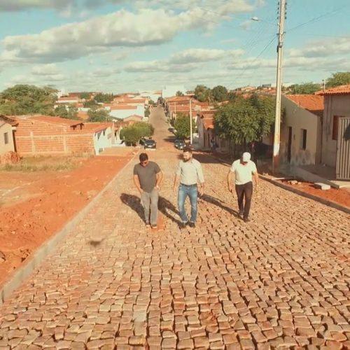 Prefeitura de Jacobina do Piauí investe mais de 1 milhão em pavimentação de ruas