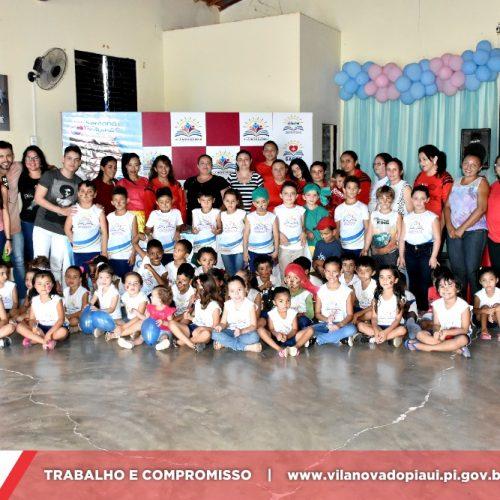 Secretaria de Educação de Vila Nova do Piauí desenvolve ações voltadas para a VIII Semana do Bebê