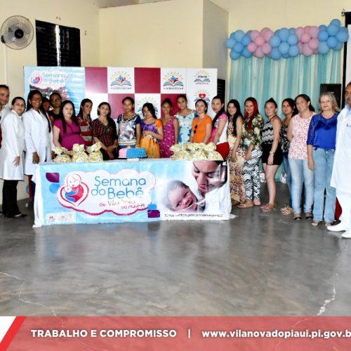 VIII Semana do Bebê: 2° e 3° dia é marcado por ações da saúde em Vila Nova do Piauí