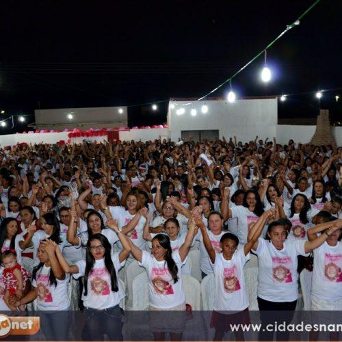 FOTOS: Festa em homenagem às mães em Campo Grande do Piauí