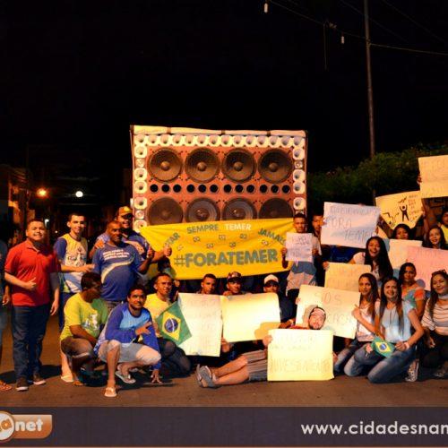 JAICÓS   Populares protestam contra o governo Temer