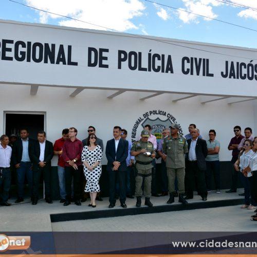 Delegacia de Jaicós é reformada e ampliada; obra otimiza atendimentos e investigações