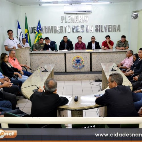 Secretário de Segurança participa de audiência pública em Jaicós e anuncia medidas