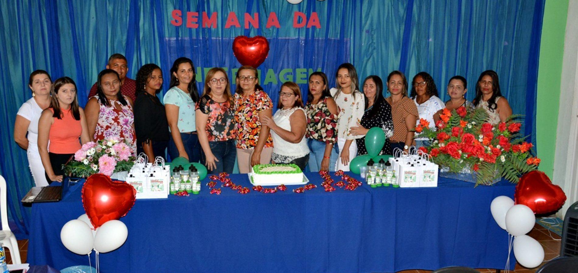 Profissionais da Enfermagem são homenageados em Massapê do Piauí