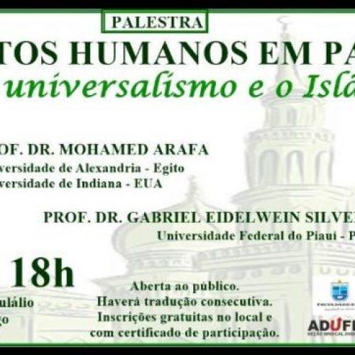 Professor egípcio ministrará palestra na UFPI de Picos sobre direitos humanos e Islamismo