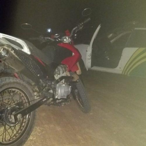 Moto é furtada em frente a escola em Padre Marcos e recuperada pela PM em Alegrete