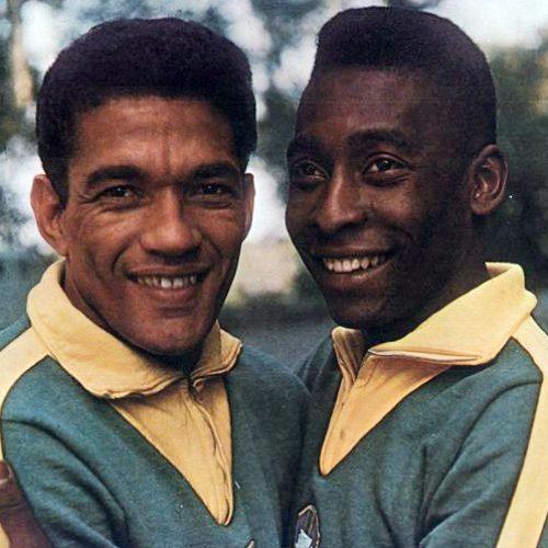 Primeiro jogo de Pelé e Garrincha juntos na Seleção completa 60 anos
