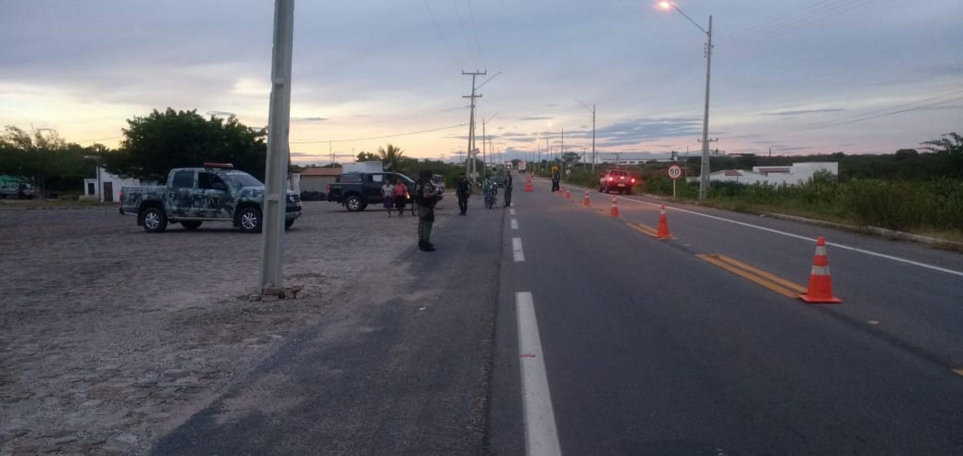 3º CIA da PM deflagra operação e reforça policiamento em Jaicós, Padre Marcos, Belém e Francisco Macedo