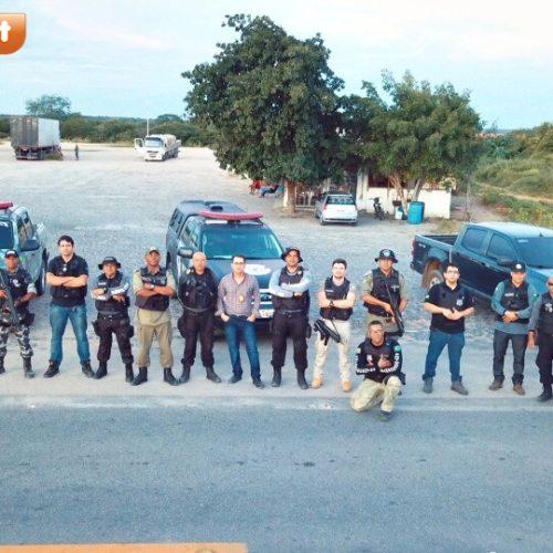 Força Tarefa da Secretaria de Segurança pública reforça combate à criminalidade em Jaicós