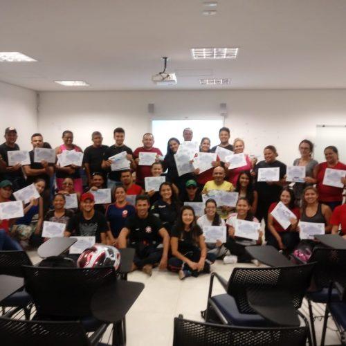 Equipe do SAMU de Jaicós participa de curso de atendimento pré-hospitalar em Picos