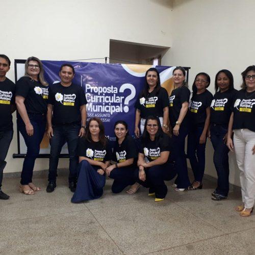 Educação de Padre Marcos participa de formação para Elaboração da Proposta Curricular Municipal