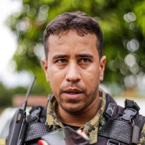 Líder da quadrilha foi expulso da Polícia Militar há 40 dias, diz comandante