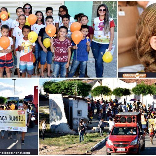 Conselho tutelar de Alegrete do Piauí promove caminhada em alusão ao dia 18 de maio