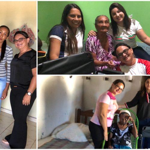 JACOBINA   Secretaria de Saúde faz entrega de 19 cadeiras de rodas e de banho