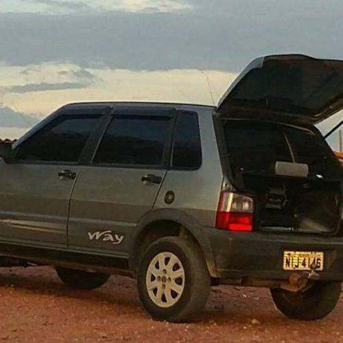 Família de Jaicós é rendida e tem carro roubado durante a madrugada na BR 407