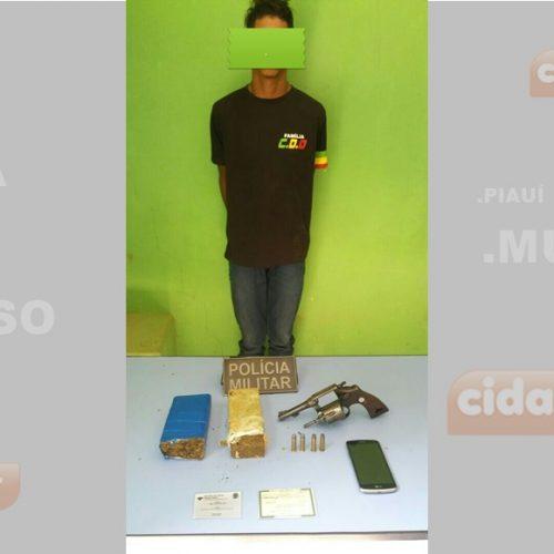 Menor é apreendido por tráfico de drogas em Marcolândia