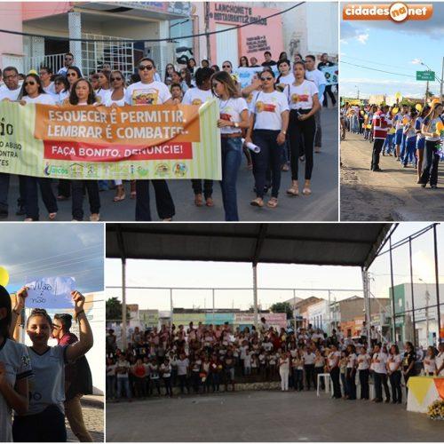 FOTOS: Dia Nacional de Combate ao Abuso e Exploração Sexual de Crianças e Adolescentes em Jaicós