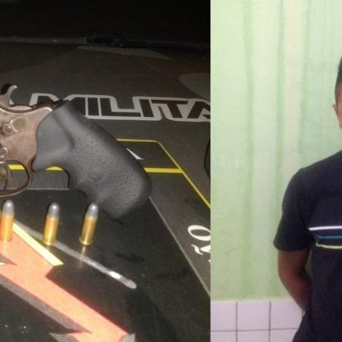 PM deflagra operação Zona Rural Segura e homem é preso por porte de arma de fogo em Padre Marcos