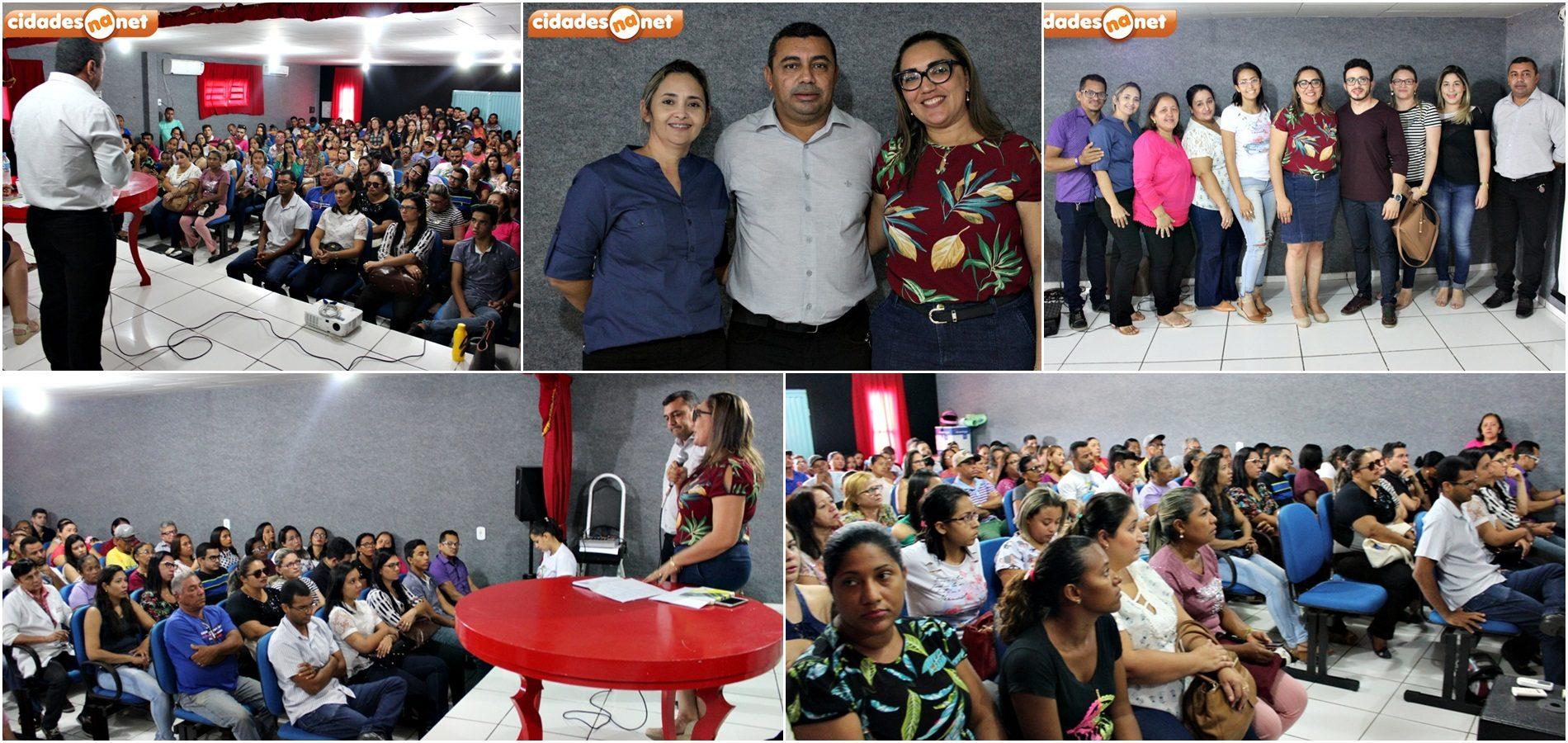 Em Jaicós, prefeito reúne equipe da Saúde, anuncia nova secretária e fala sobre investimentos na área