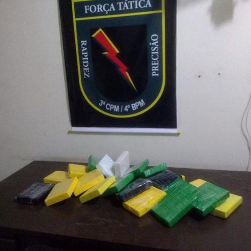 Operação da PM prende 58 pessoas e apreende droga avaliada em R$ 400 mil no PI