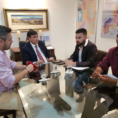 Em nova audiência com o governador e deputado, prefeito GD busca investimentos para Jacobina do PI