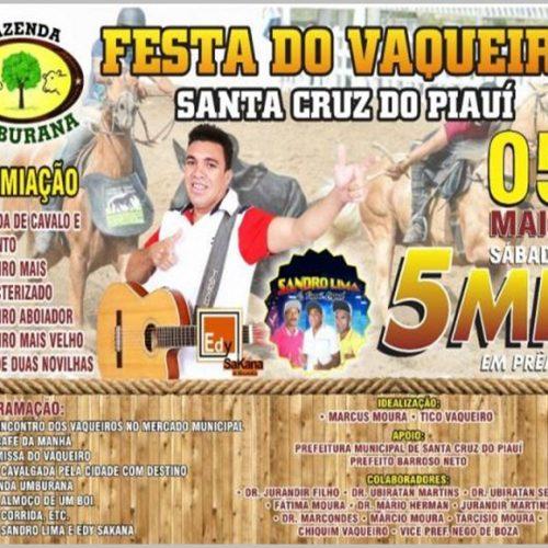 Festa do Vaqueiro de Santa Cruz do Piauí acontece neste sábado