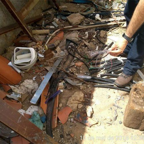 Operação apreende 100 metros de fios de cobre e prende uma pessoa em Picos